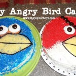 Easy Angry Birds cakes.