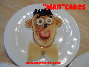 """""""Man""""Cakes – The Perfect Father's Day Breakfast"""