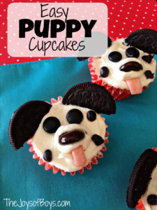 "Easy Puppy Cupcakes: ""Pupcakes"""