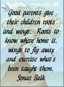 Monday Motivation: Roots and Wings