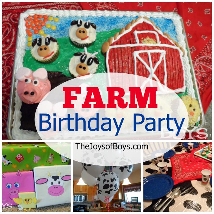 Farm Birthday Party