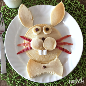 Easter Bunny Pancakes: Easy Easter Breakfast for Kids