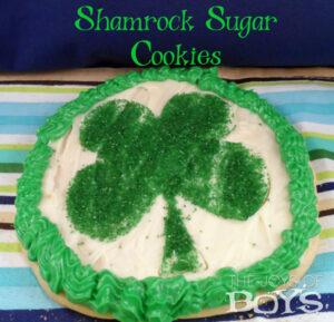 Shamrock Sugar Cookie