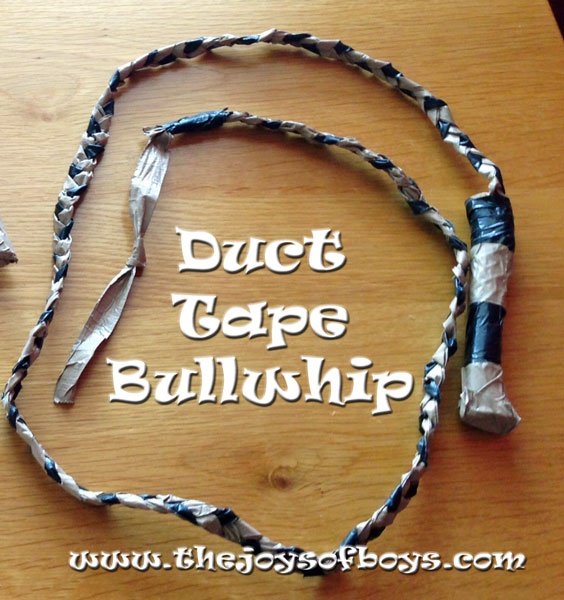 Indiana Jones Bullwhip out of duct tape