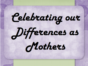 Monday Motivation: Mother's Day Stories