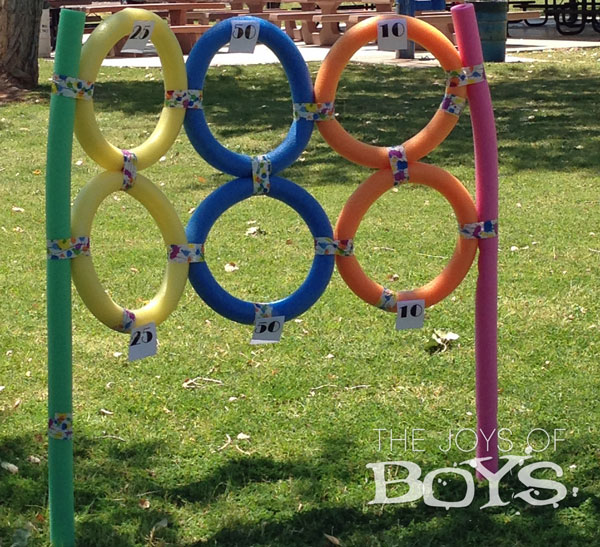 Sports Birthday Party, Pool Noodle Target
