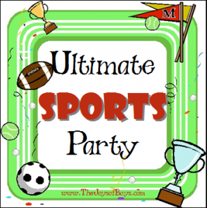 Ultimate Sports Birthday Party