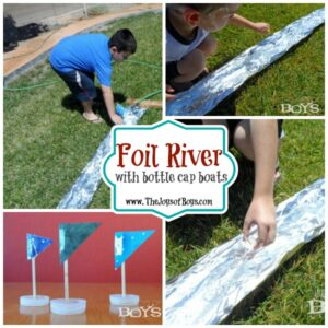Foil River: Fun on a Dime