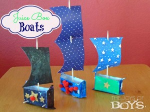 Summer Day Camp: Juice Box Boats