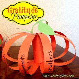 Gratitude Pumpkins