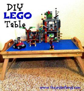 DIY LEGO table