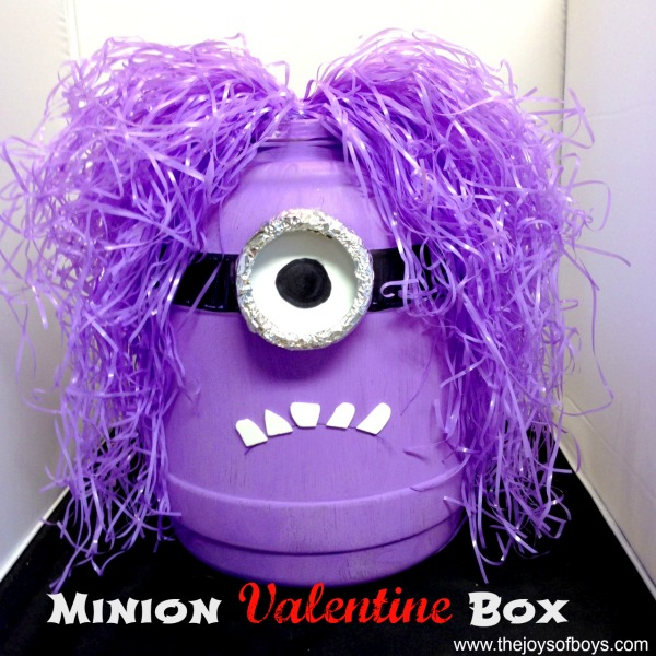 Minion Valentine Box