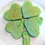 St patrick's Day pancakes