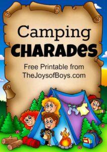 Camping Charades