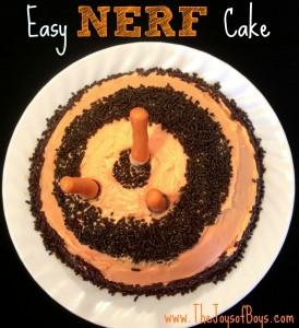 Easy Nerf Cake