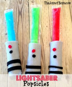 Lightsaber Popsicles – May the Force Be With You