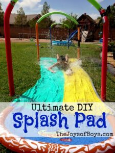Ultimate DIY Splash Pad