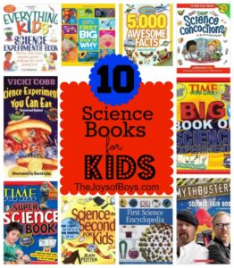Top Science Books for Kids