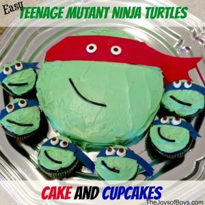Easy Teenage Mutant Ninja Turtles Cake