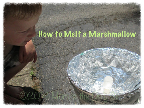 melting marshmallows