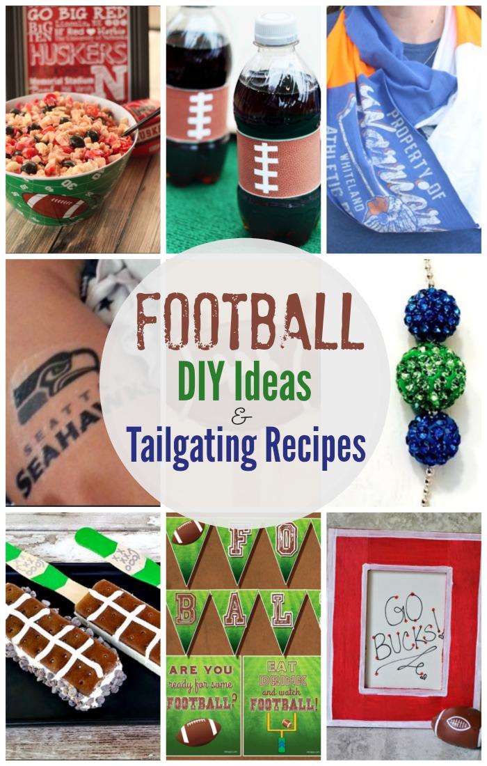 Football Crafts & Tailgating Recipes
