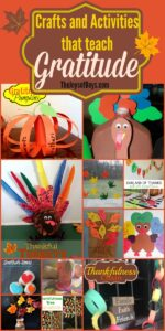 Crafts and Activities that Teach Gratitude