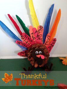 Thankful Turkeys: Easy Thanksgiving Craft