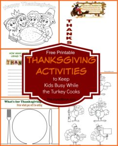 Thanksgiving Activities to Keep Kids Busy While the Turkey Cooks