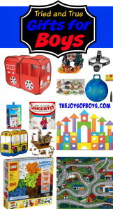 Tried and True Gifts for Boys