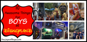 10 Awesome Things for Boys at Disneyland