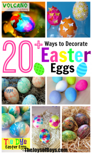 20 Fun Ways to Decorate Easter Eggs