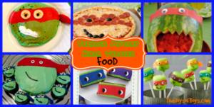 Teenage Mutant Ninja Turtles food