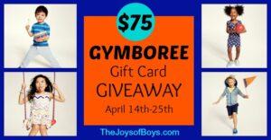 Cute Clothes for Boys – Gymboree Giveaway