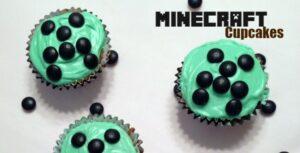 Easy Minecraft Cupcakes
