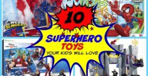 10 Superhero Toys Your Kids Will Love