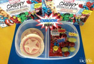 Super Hero Lunch to Help Children Feel Brave!