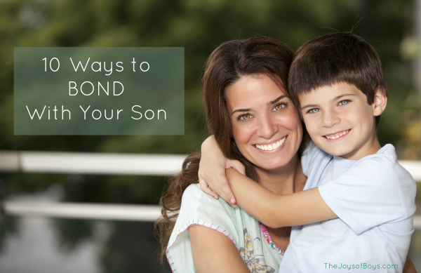 Bond with your son