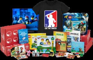 LEGO BrickSwag: LEGO Swag Delivered to Your Door