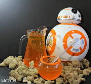 Star Wars BB-8 Punch: Easy Star Wars Drink