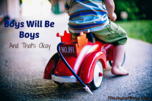 """""""Boys Will Be Boys"""" and That Is Okay"""
