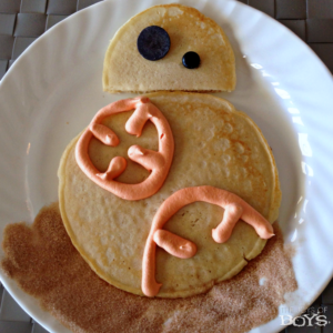 BB-8 Pancakes – Easy Star Wars Breakfast