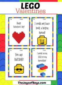 LEGO Valentines – For the LEGO Fan in Your Life
