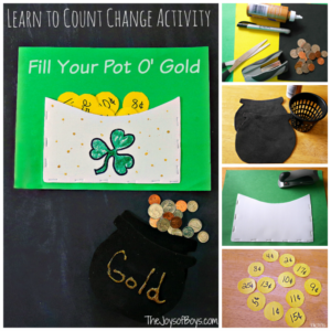 Fill Your Pot of Gold St Patrick's Day Activity
