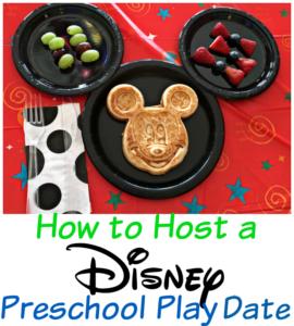 Disney Preschool Play Date Brunch