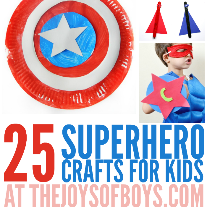 super hero craft ideas 25 crafts for the joys of boys 5527