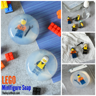 Make LEGO Minifigure Soap