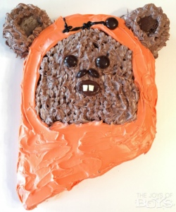Ewok Cake: Easy Star Wars Birthday Cake