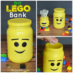 How to Make a LEGO Bank