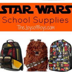 Star Wars School Supplies for Your Future Jedi