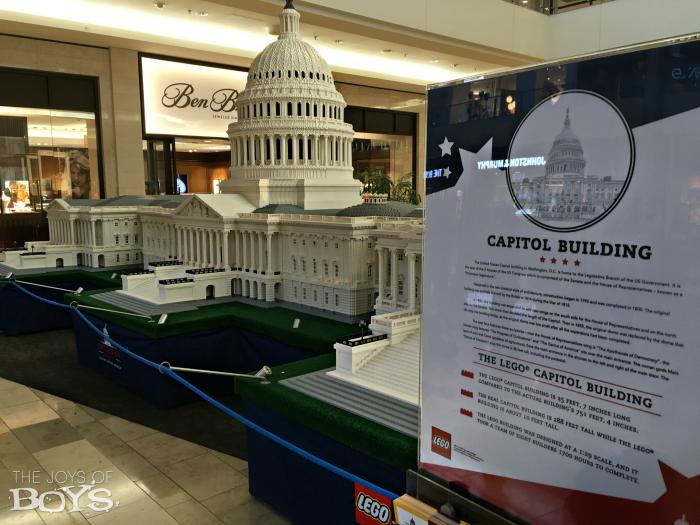 LEGO Americana Roadshow Capitol Building